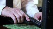Loading the Clip in Gun Stock Footage