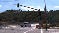 Bridge over 405fwy Stock Footage