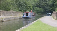 Stock Video Footage of Canal boat 1