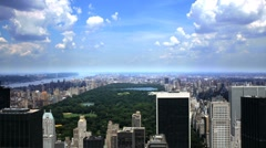 Central Park in New York City, Manhattan NYC Beautiful Timelapse Stock Footage
