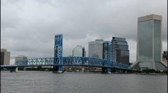 Jax main street bridge Stock Footage