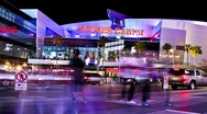 Stock Video Footage of Staples Center (Time Lapse)