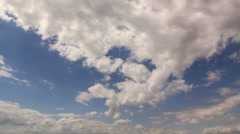 Timelapse Clouds Long Part3 HD NTSC Stock Footage