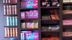 Sweet Shop Stock Footage