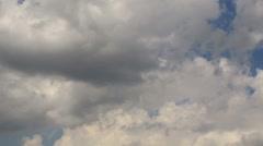 Timelapse Clouds Sun 2 Rain HD NTSC Stock Footage