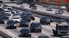 Fwy traffic timelapse 405 Stock Footage
