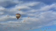 Hot Air Balloon 06 Stock Footage