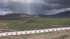 Mongolia: Storm Coming Stock Footage