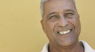 Stock Video Footage of Mature hispanic man smiling at camera