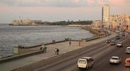 Havana Cuba Traffic Stock Footage