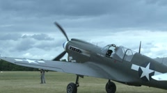 P40N Warhawk Stock Footage