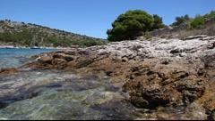 Adriatic coast Stock Footage