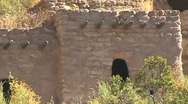 Stock Video Footage of Anasazi Buildibg