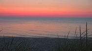 Stock Video Footage of Sunset on Lake Michigan