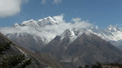 Timelapse of the Himalaya Mountains 02 - stock footage
