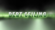 Stock Video Footage of Debt Ceiling Credit Crisis