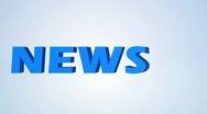News Headline Stock Footage