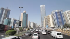 Abu Dhabi City - stock footage