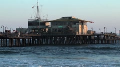 End of Pier - stock footage