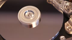 Hard Drive Disc - stock footage
