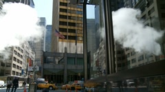 Steamy NYC Stock Footage