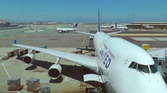 Airport (timelapse) Stock Footage