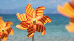 pinwheel - stock footage