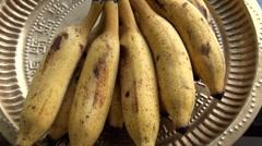 Mini Banana from South India Stock Footage