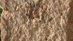 Background of Varied Texture Chipped Concrete  (HD) - stock footage