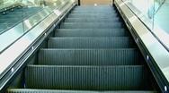 Stock Video Footage of escalator