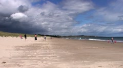 Beach Scene Stock Footage