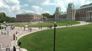 Stock Video Footage of Tsaritsyno Palace Time Lapse