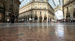 Timelapse Footage in Milan Italy 01 - stock footage