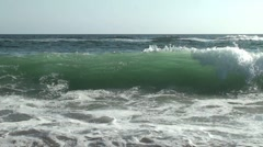 Slow Motion Waves 3 - stock footage