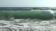 Stock Video Footage of Slow Motion Waves 3