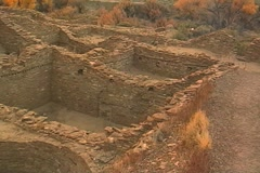 Chaco Canyon 01 - stock footage