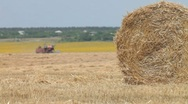 Stock Video Footage of Hay bale