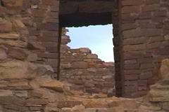 Chaco Canyon 05 - stock footage