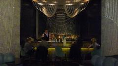 Luxury Bar Stock Footage