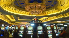 Casino High Stakes Gambling - stock footage