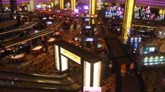 Stock Video Footage of Las Vegas Casino Real Time 1