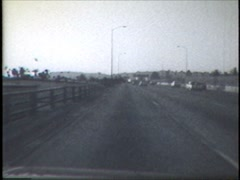 Hollywood Freeway 1986 Stock Footage