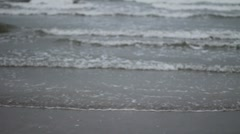 Tide Coming In Stock Footage