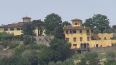 Architecture of Tuscany, Italy Stock Footage