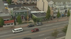 Hastings Street Traffic , Burnaby, Canada 2 of 2 Stock Footage