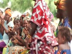 Mali Dance Stock Footage