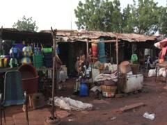 Bomako, Mali, Africa Stock Footage