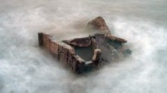 Concrete Battery 01 - stock footage