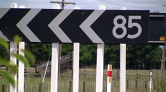 85 Km/hr 01 Stock Footage