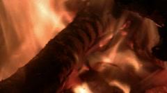 Fire CU01 Stock Footage